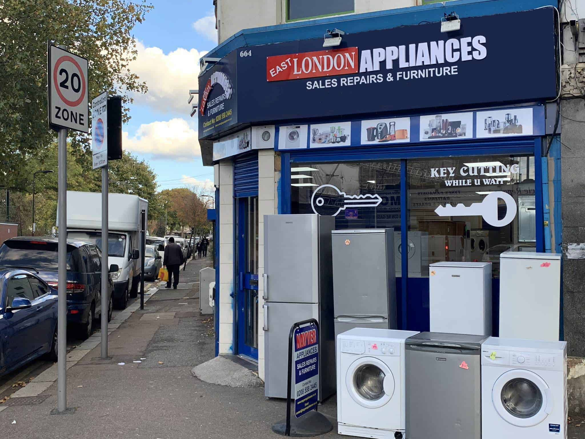 edited-good Second Hand Washing Machines Leyton